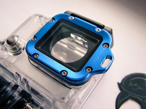 Подводный бокс для камеры GoPro 3+ Silver с металлической рамкой