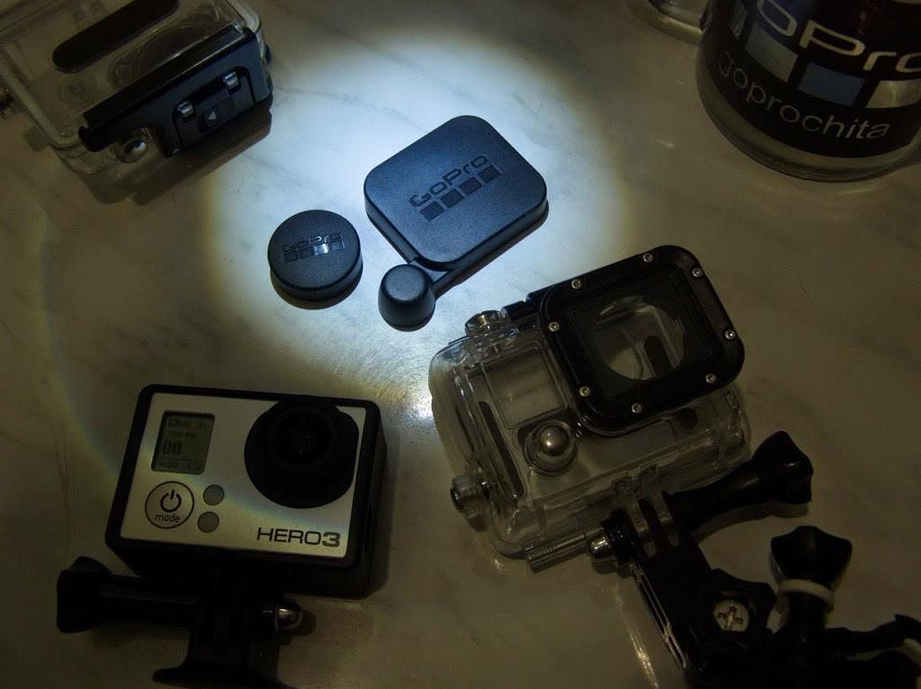 Набор защитных крышек для объектива камеры GoPro и стекла герметичного бокса