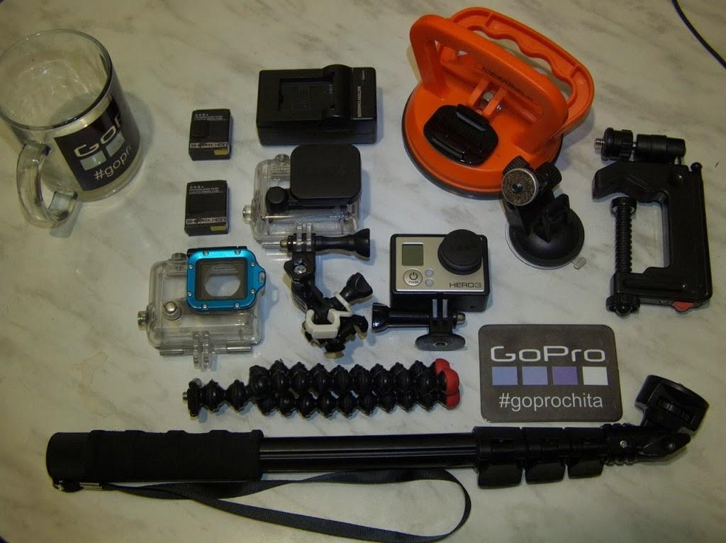Набор креплений и аксессуаров первой необходимости для камеры GoPro