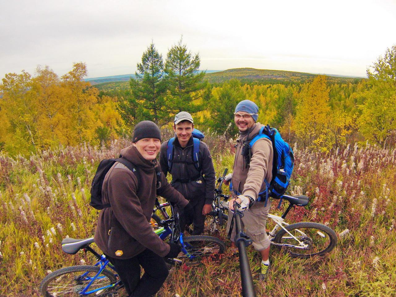 Велосипедный туризм в красивых местах Забайкальского края