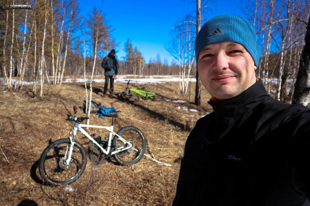 На велосипедах по Забайкальским лесам