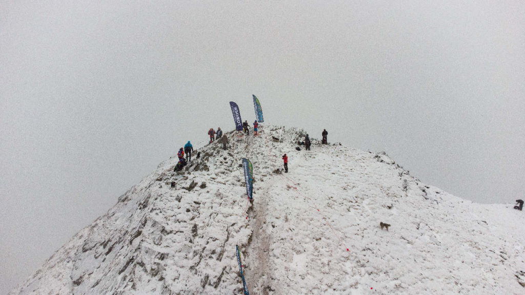 Пик Любви - организаторы готовят финиш для участников скоростного забега Козерог 2021